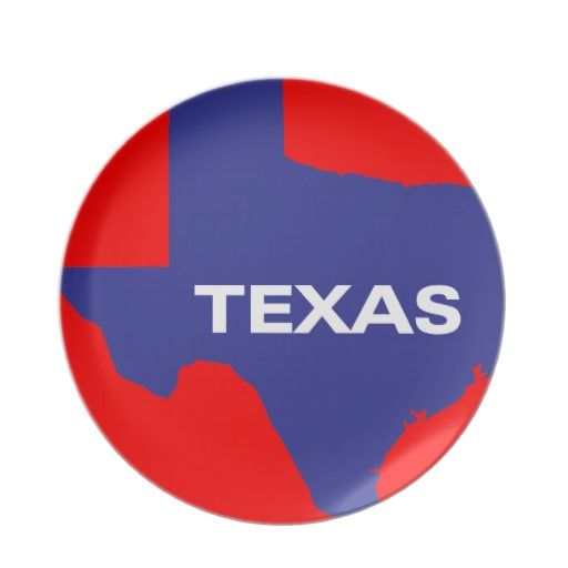 State of Texas Party Plates