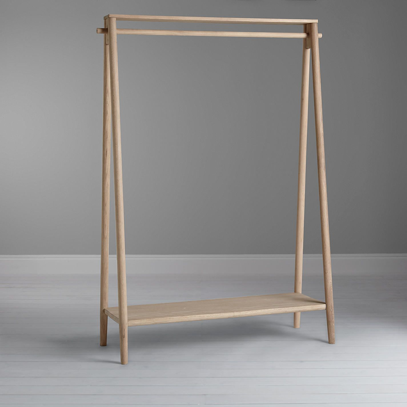 furniture for hanging clothes. buy bethan gray for john lewis genevieve hanging rail oak from our clothes rails u0026 fabric wardrobes range at furniture n