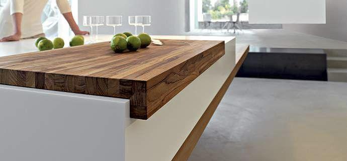 Contemporary kitchen / Corian® - KUBE SNAIDERO by Giovanni Offredi ...