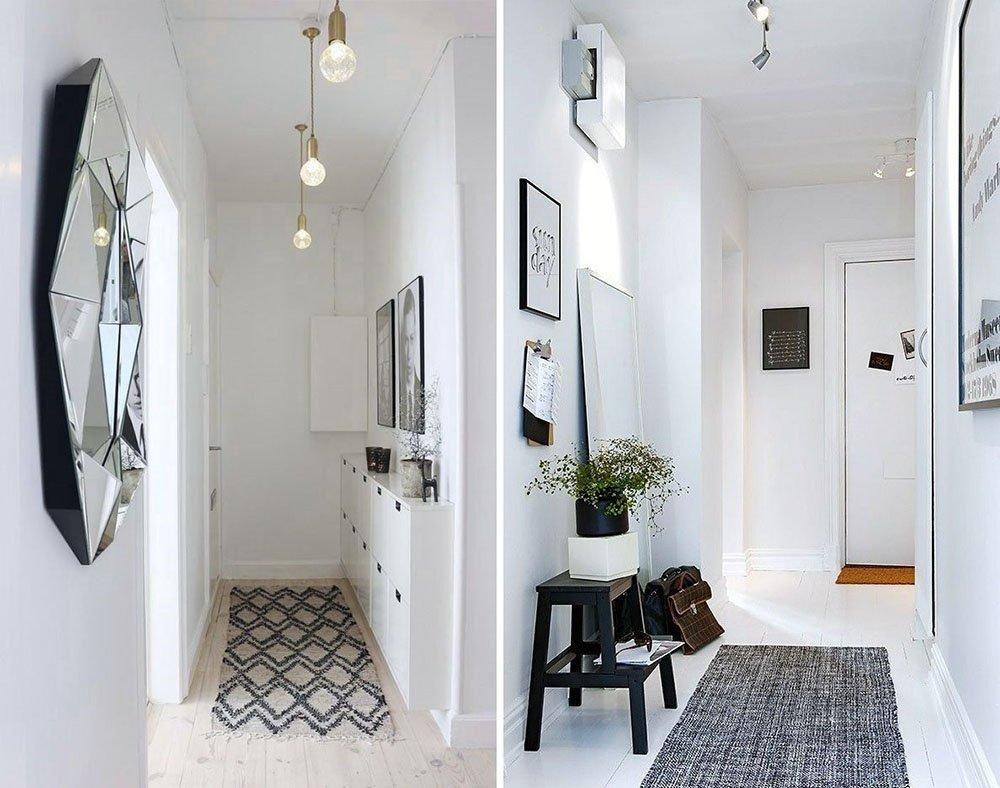 Ideas que te encantar n para decorar un pasillo estrecho for Espejos estrechos
