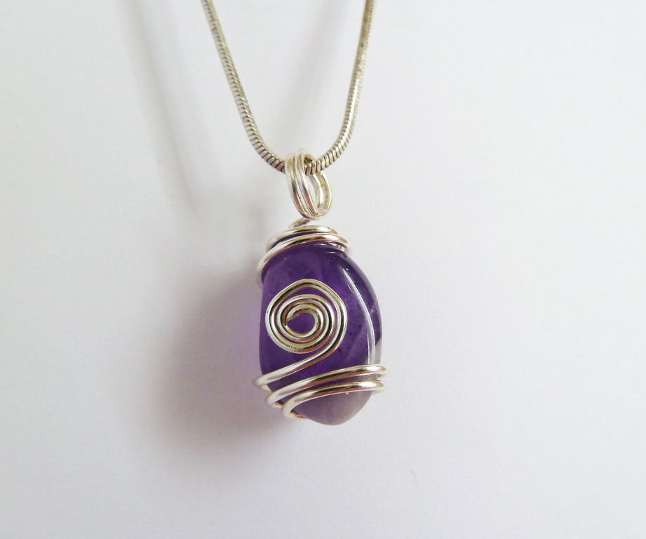 Wire Wrapped Stone Pendants | Wire wrapping, Wire wrapping tutorial ...