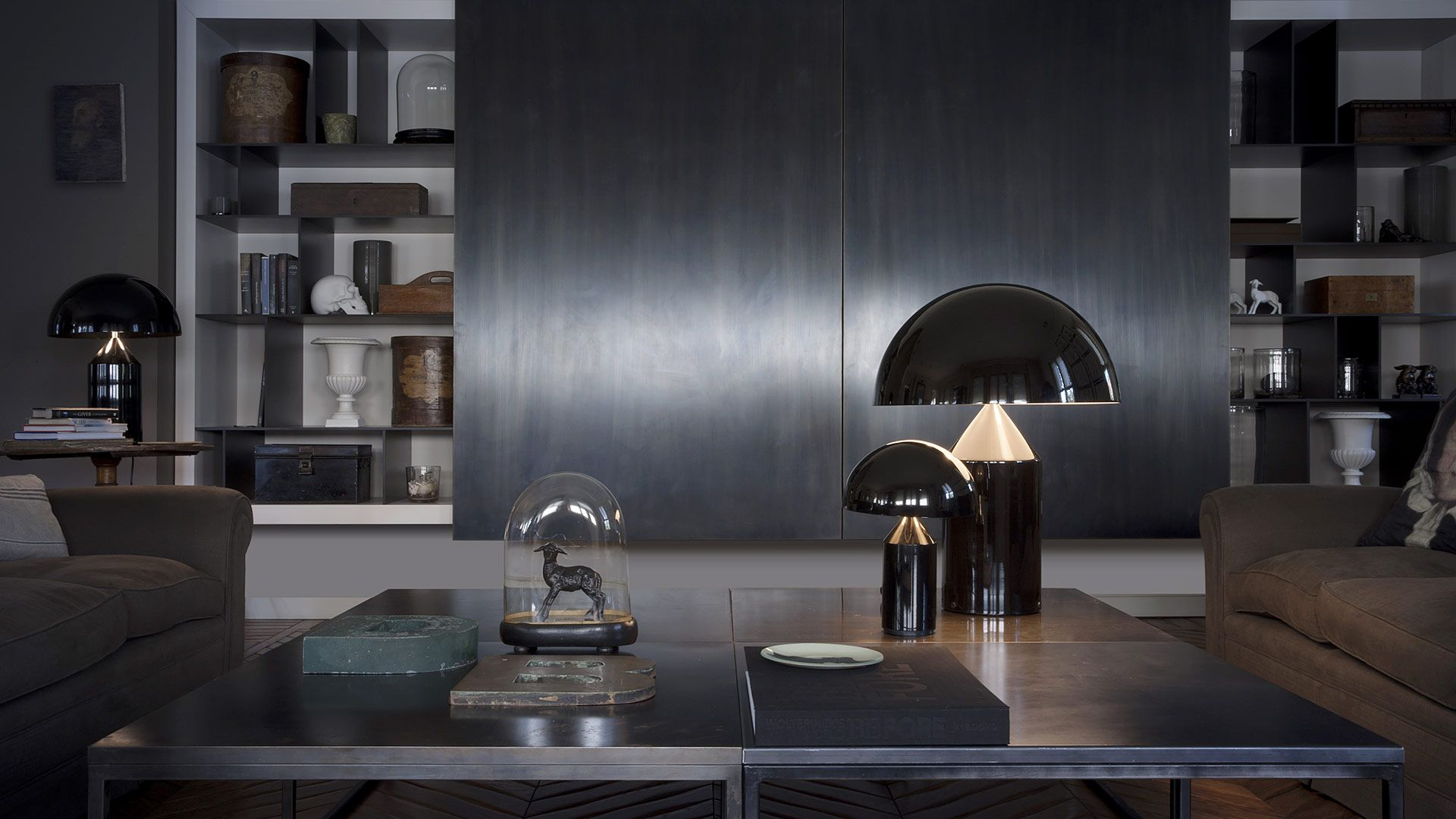 Atollo lamp van Vico Magistretti, verkrijgbaar bij Top Interieur in ...