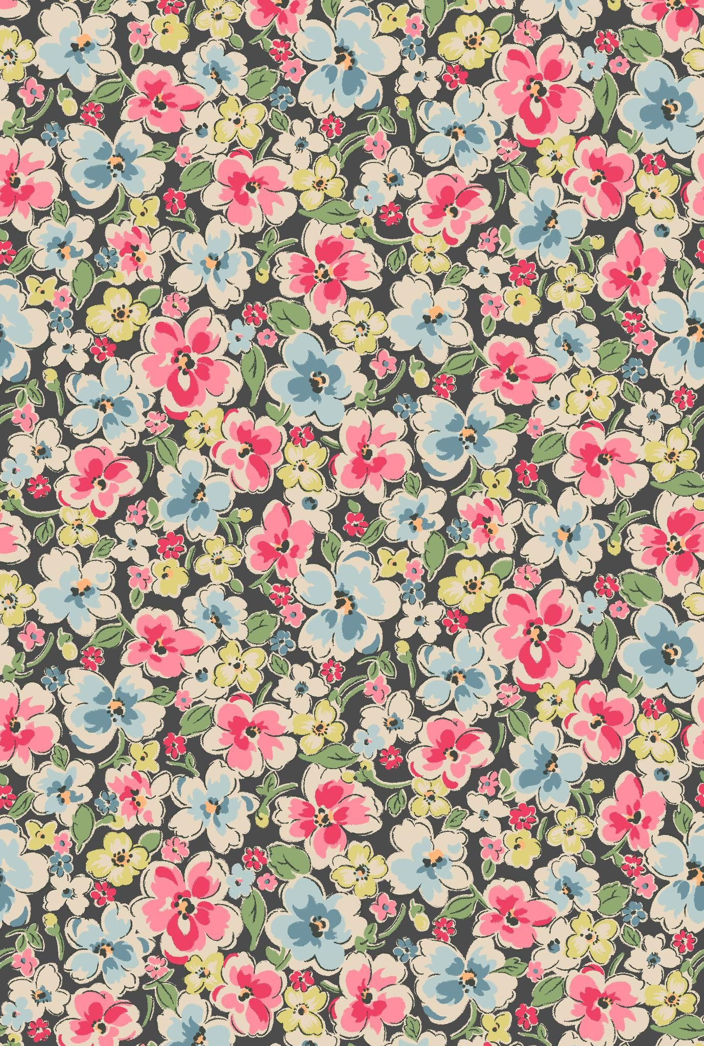 Wallpaper Cath Kidston Iphone Orchard Bloom A Bold And Beautiful Full Bloom Floral