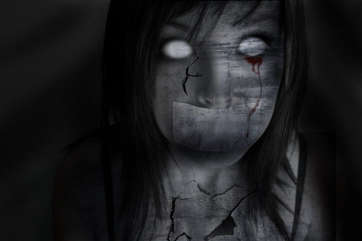 Gothic You Are Viewing The Art Wallpaper Named Gothic Girls 018 Gothic Wallpaper Scary Wallpaper Gothic Images Dark gothic creepy wallpaper