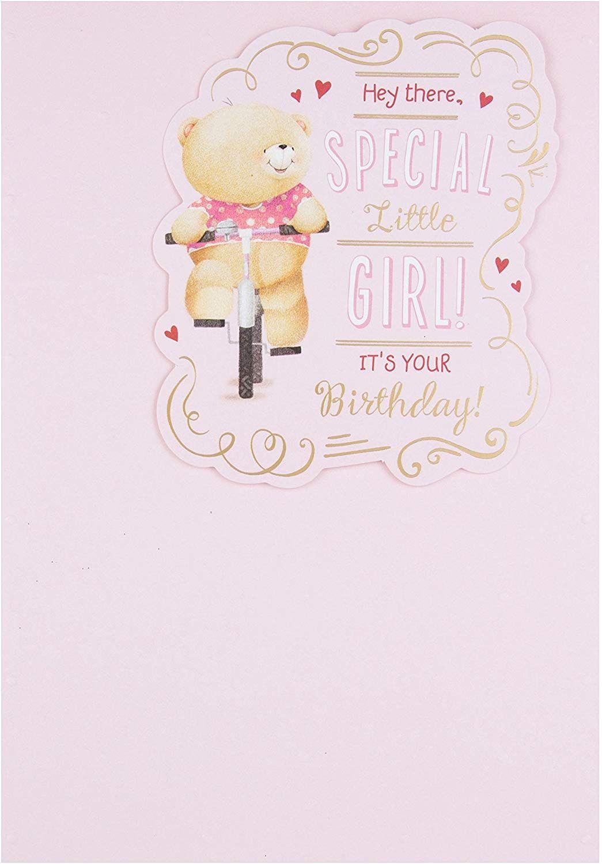 Hallmark Forever Friends Birthday Card Special Little Girl Medium Old Model Amazon Co Uk Off Birthday Cards For Friends Friend Birthday Friends Forever