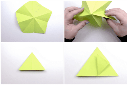 Photo of Wie man einen 3-D Origami Apfel macht