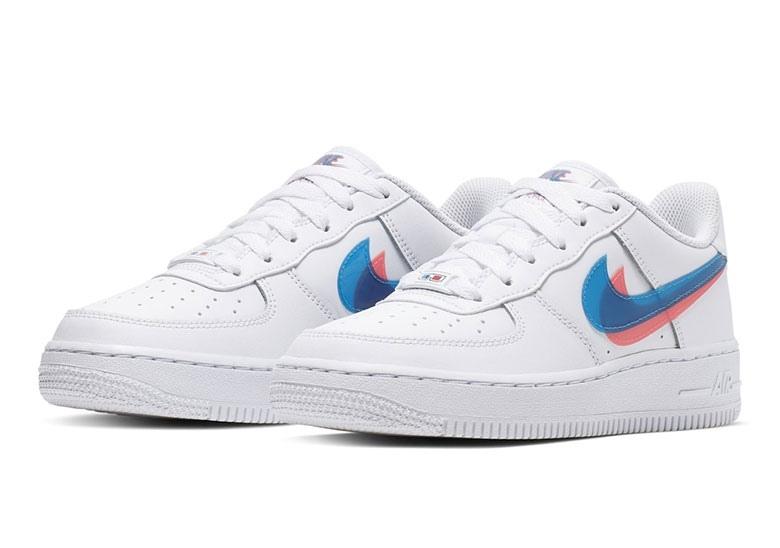 Nike Air Force 1 Low GS '3D' (с изображениями)