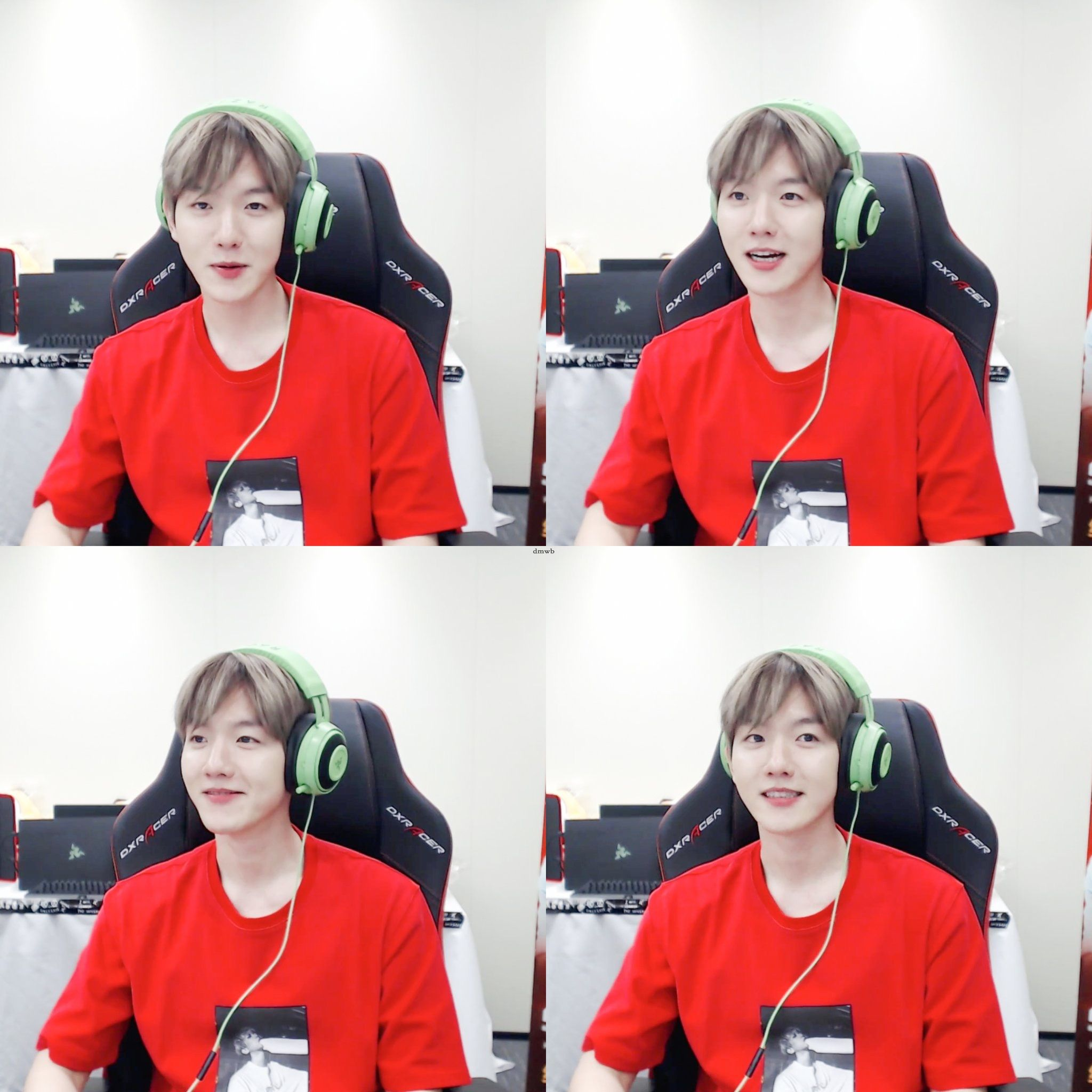 Baekhyun 180905 Pubg Gaming Broadcast Exo