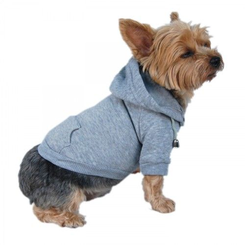 Dog Pullover Hoodie - Gray - Tip Top Accessory Shop