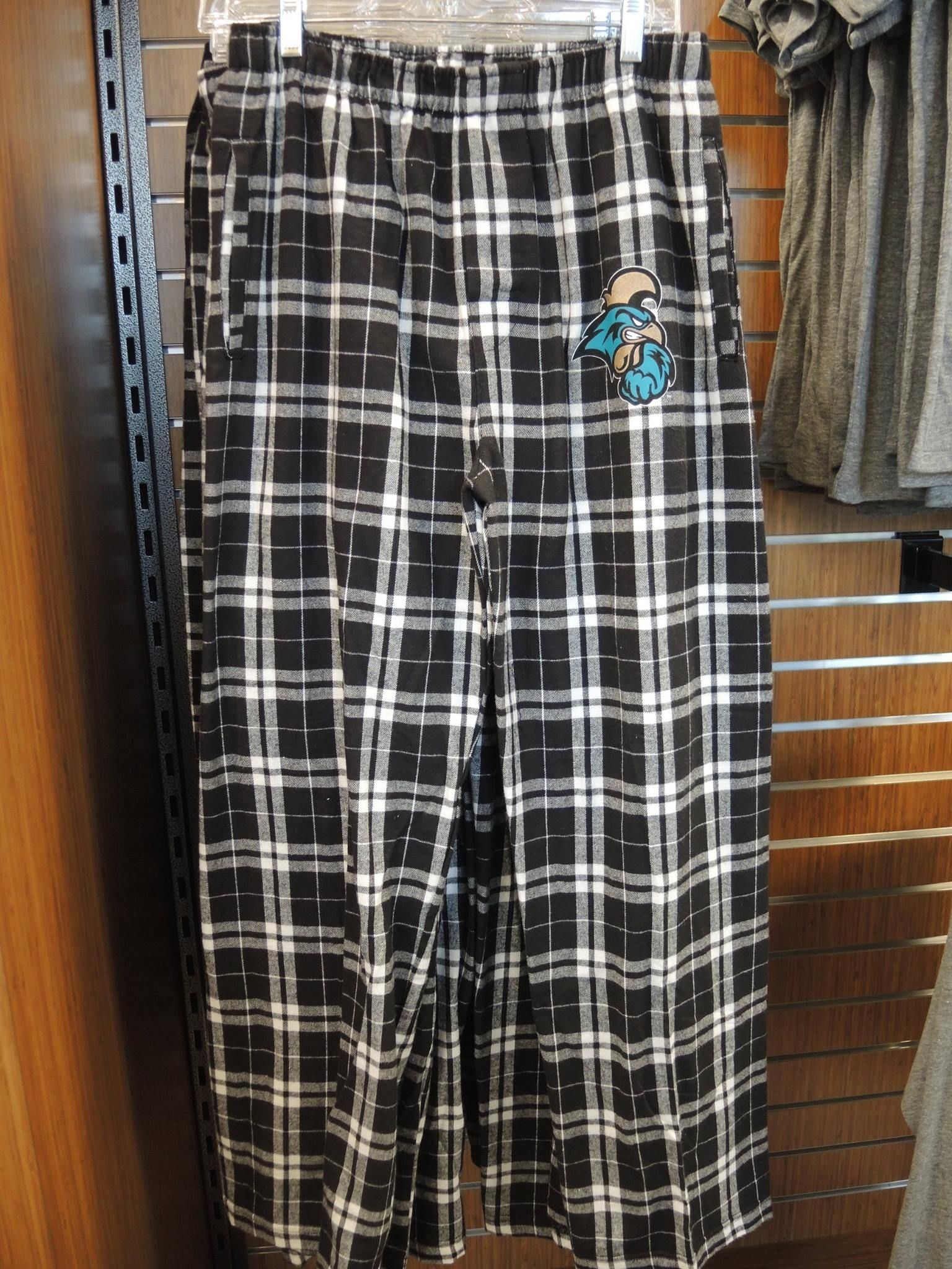 Men s plaid fleece pajama pants at The Chanticleer Store in HTC Center ffaa2ad8f