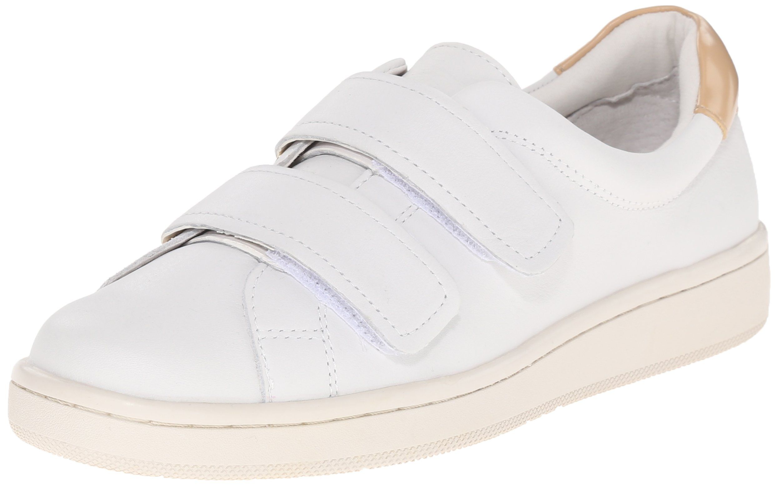 Calvin Klein Women's Divine Fashion Sneaker, Platinum White/Sandstorm  Brown, ...