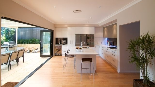 kitchen designs with bifold doors kitchen diner extension bi fold doors search 764