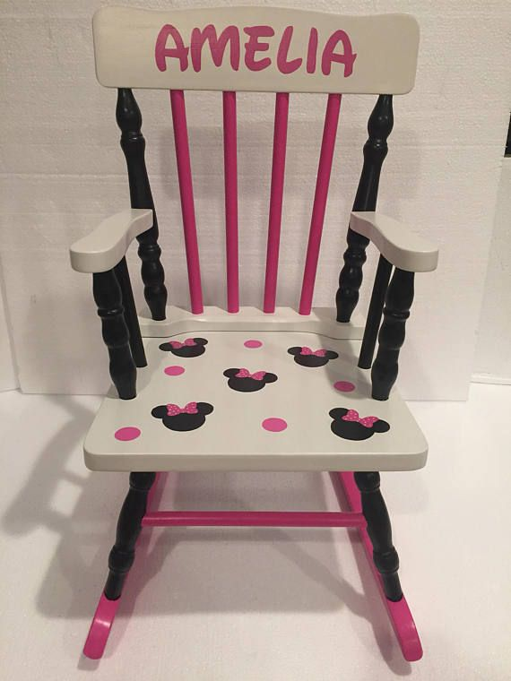 Minnie Mouse Rocking Chair - Minnie Mouse kids bedroom ...