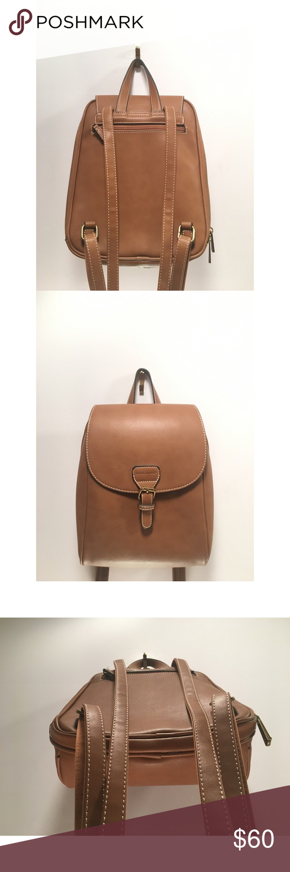 437830953bf3 David Jones Womens Faux Leather Mini Backpack Shoulder Bag Purses ...