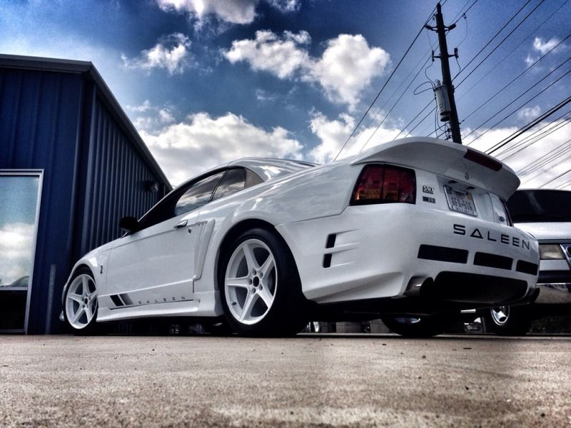 Oh Just Another White Saleen Cobra Be Still My Beating Heart Pure Beauty Saleen Mustang 2004 Ford Mustang Vintage Mustang