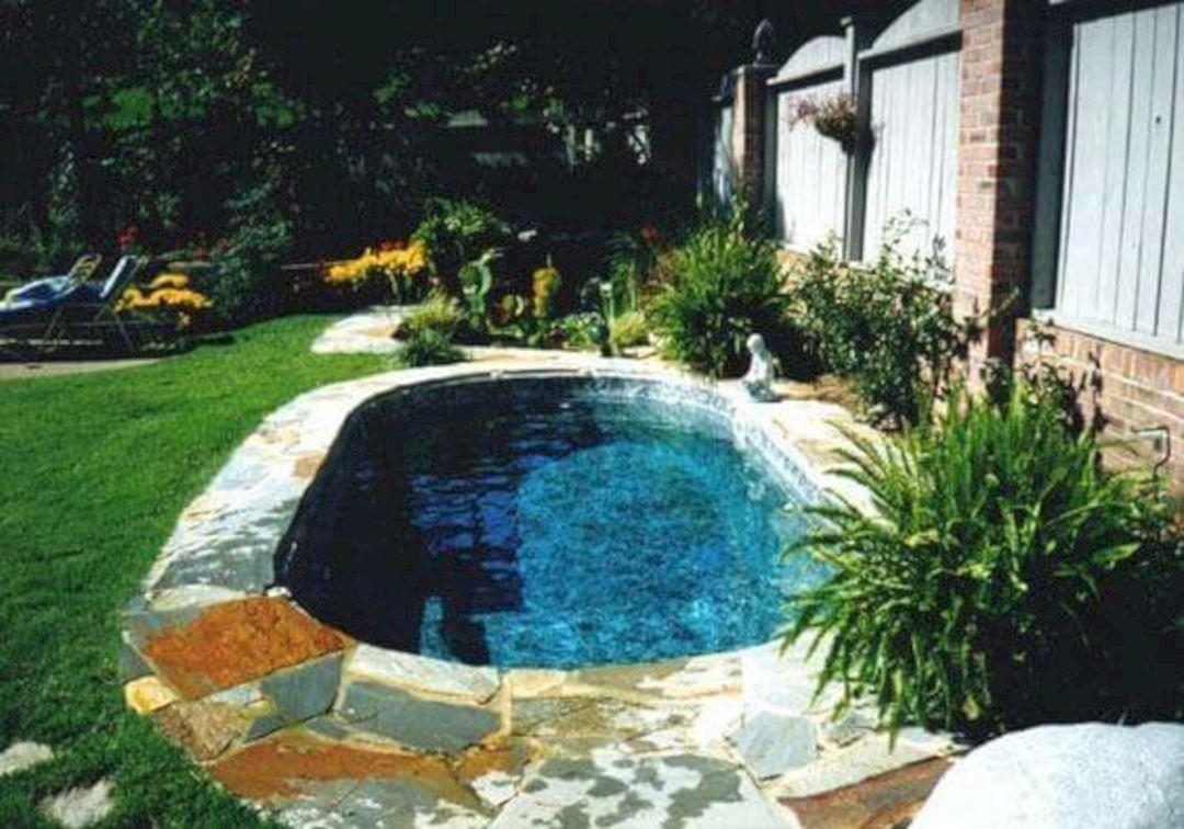 25 Most Popular Mini Pools Design For Small Backyards Decoration