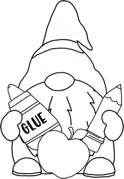 Gnome Clip Art 38 Magical Clip Art Or Line Art Free In 2021 Gnome Pictures Clip Art Gnomes