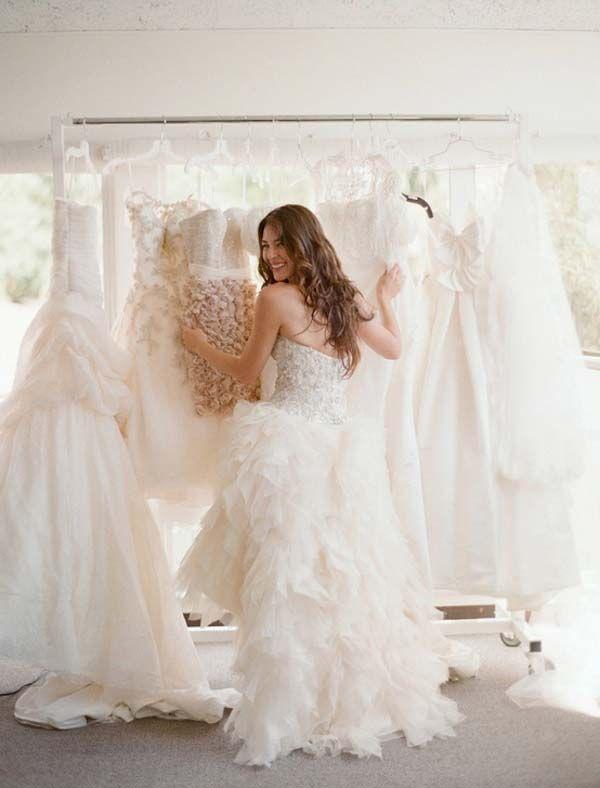 Consejos para probarse vestidos de novia