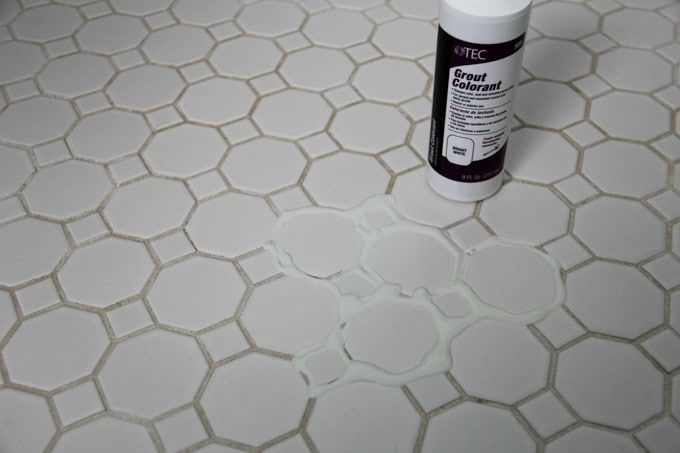 How To Refresh White Grout On Tile Floors Clean Cleaner And Floor Cleaning