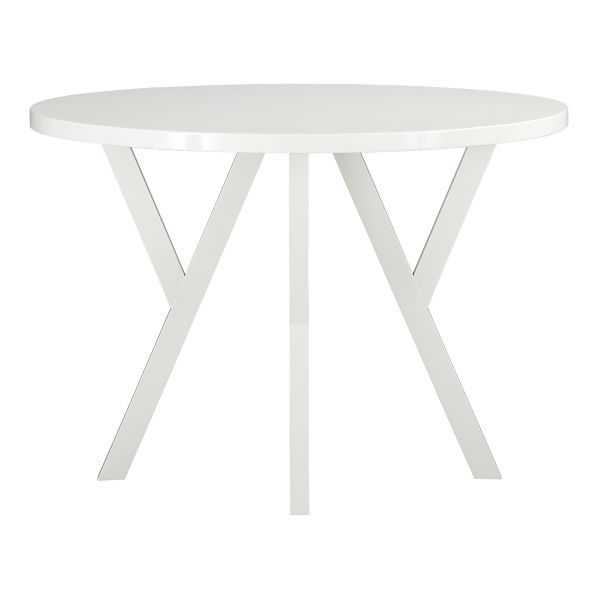 Round Dining Table.  dia.H Y-shaped legs and high