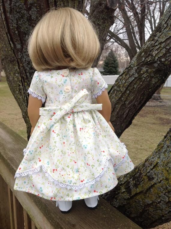 Civil War era dress fits 18 inch dolls historical doll | Etsy #historicaldollclothes