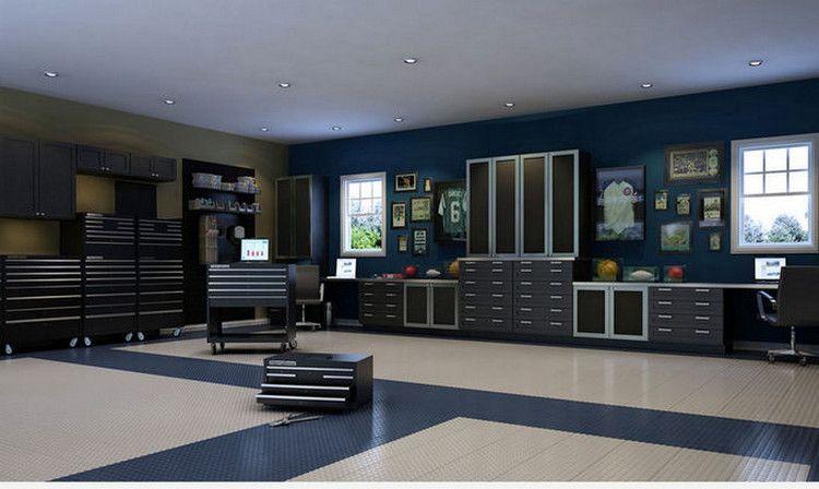 Garage Makeover Office