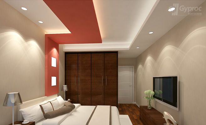 False ceiling drywall saint gobain gyproc india a for Cielos falsos para dormitorios