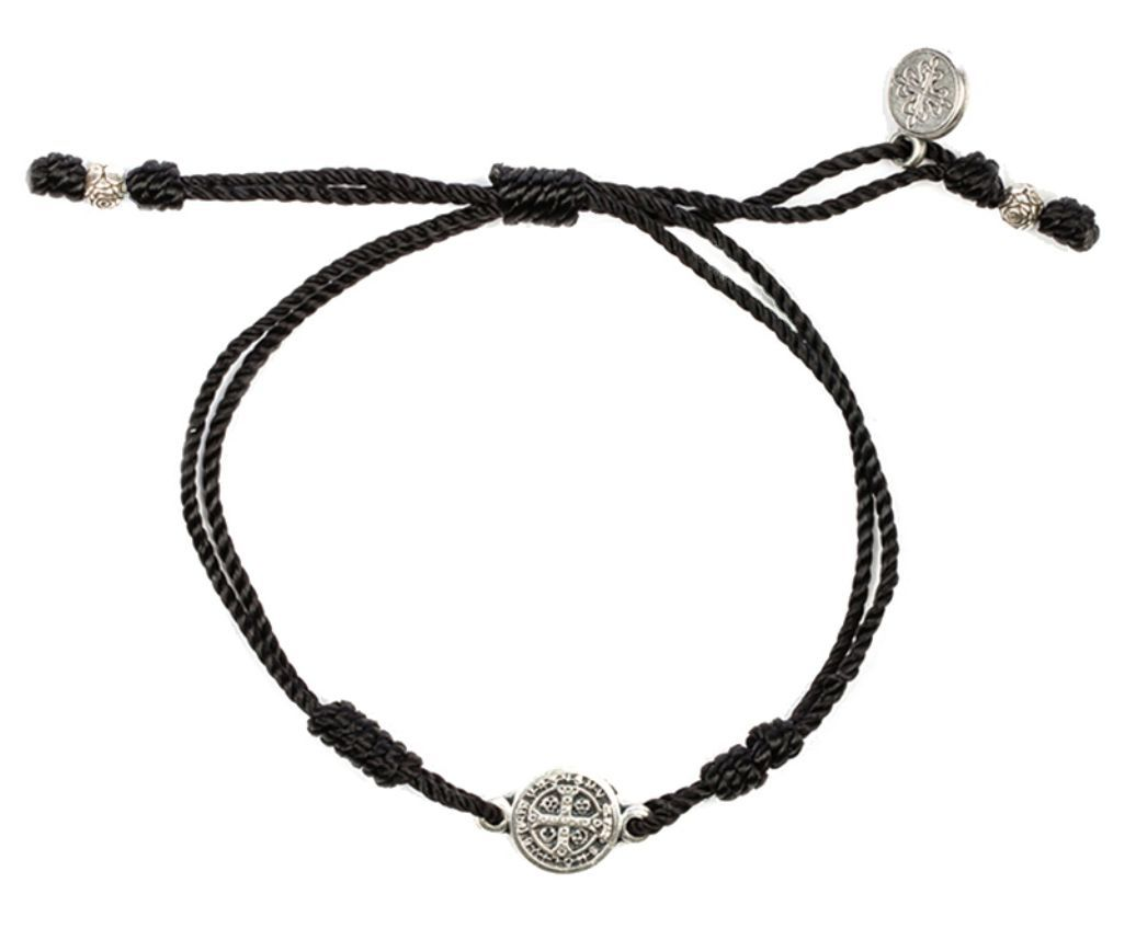 My saint my hero breathe blessing bracelet with silver medal products