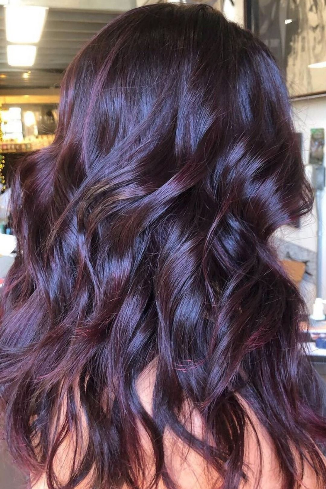 Extreme Purple Coloring Conditioner Overtone Haircare In 2020 Purple Brown Hair Dark Purple Hair Purple Hair