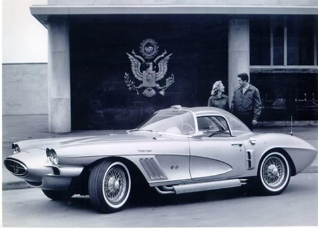 1958 Chevrolet Corvette Xp 700 Concept Cars Future Concept Cars Chevrolet Corvette