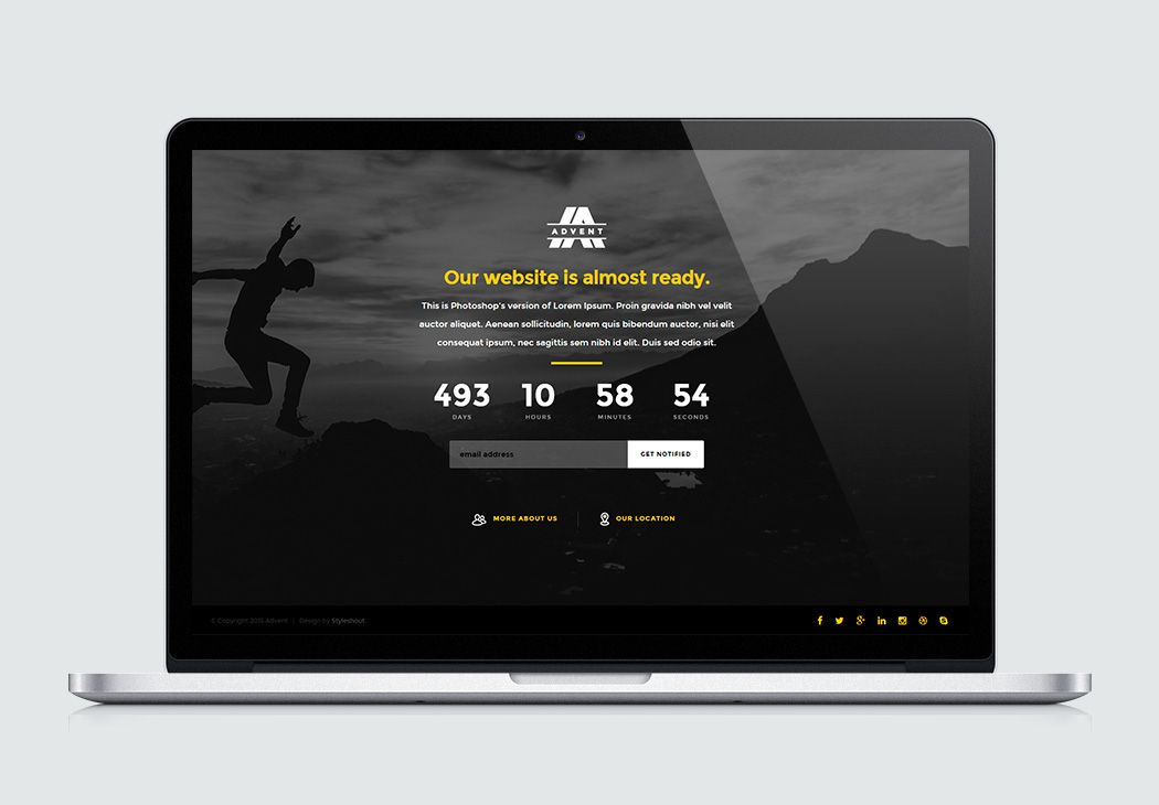 Advent  Free Website Responsive HtmlBootstrapTemplates