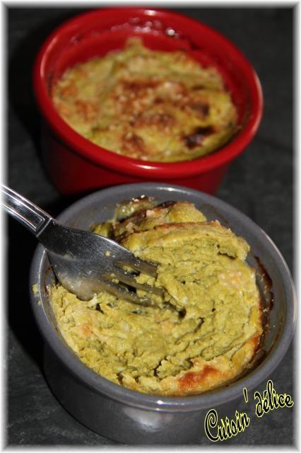 Flan de haricot vert au gruyère et parmesan, Recette de Flan de haricot vert au gruyère et parmesan par Claryss - Food Reporter