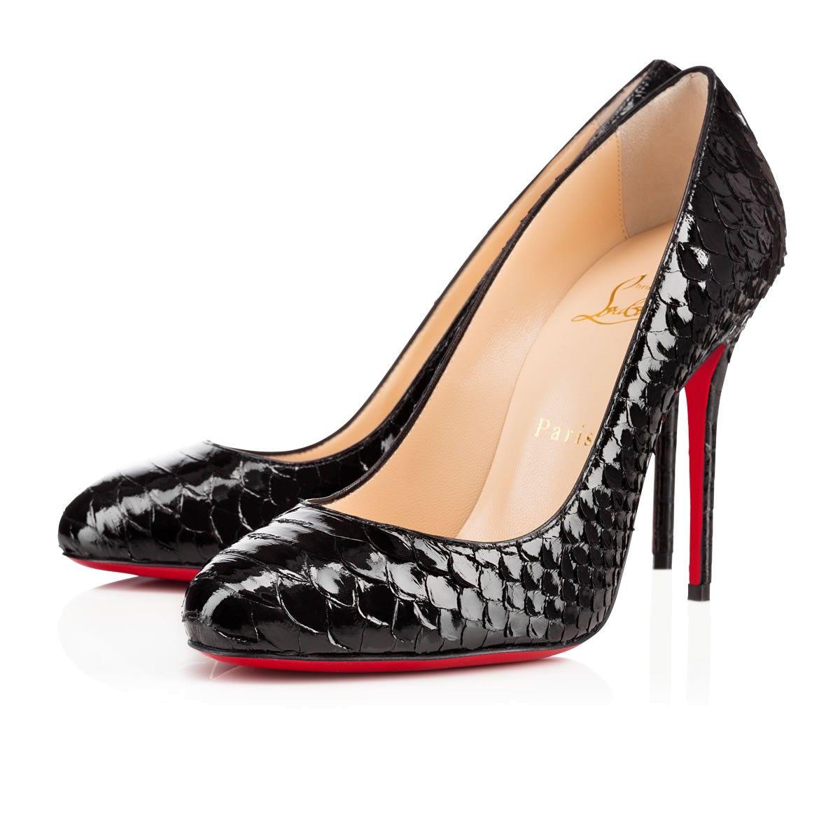 8226280b558 Women Shoes - Fifi Python Crystal - Christian Louboutin