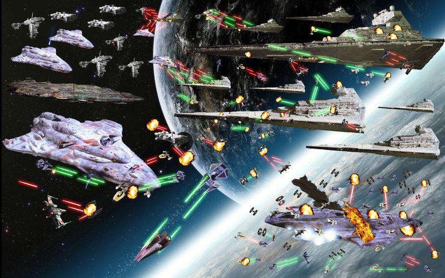 Star Wars Space Battle Wallpaper Wallpapersafari Space Battles Star Wars Star Wars Ships