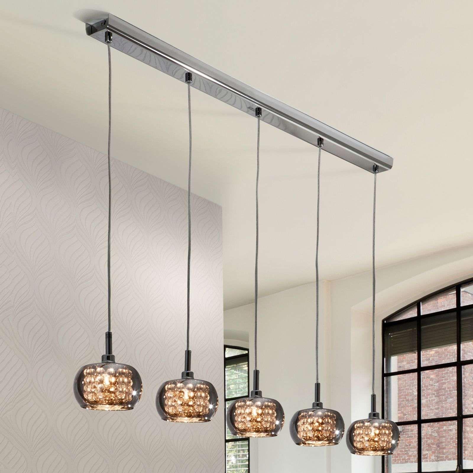 Glazen Hanglamp Arian Vijflamps In 2020 Hanglamp Verlichting En Lampen