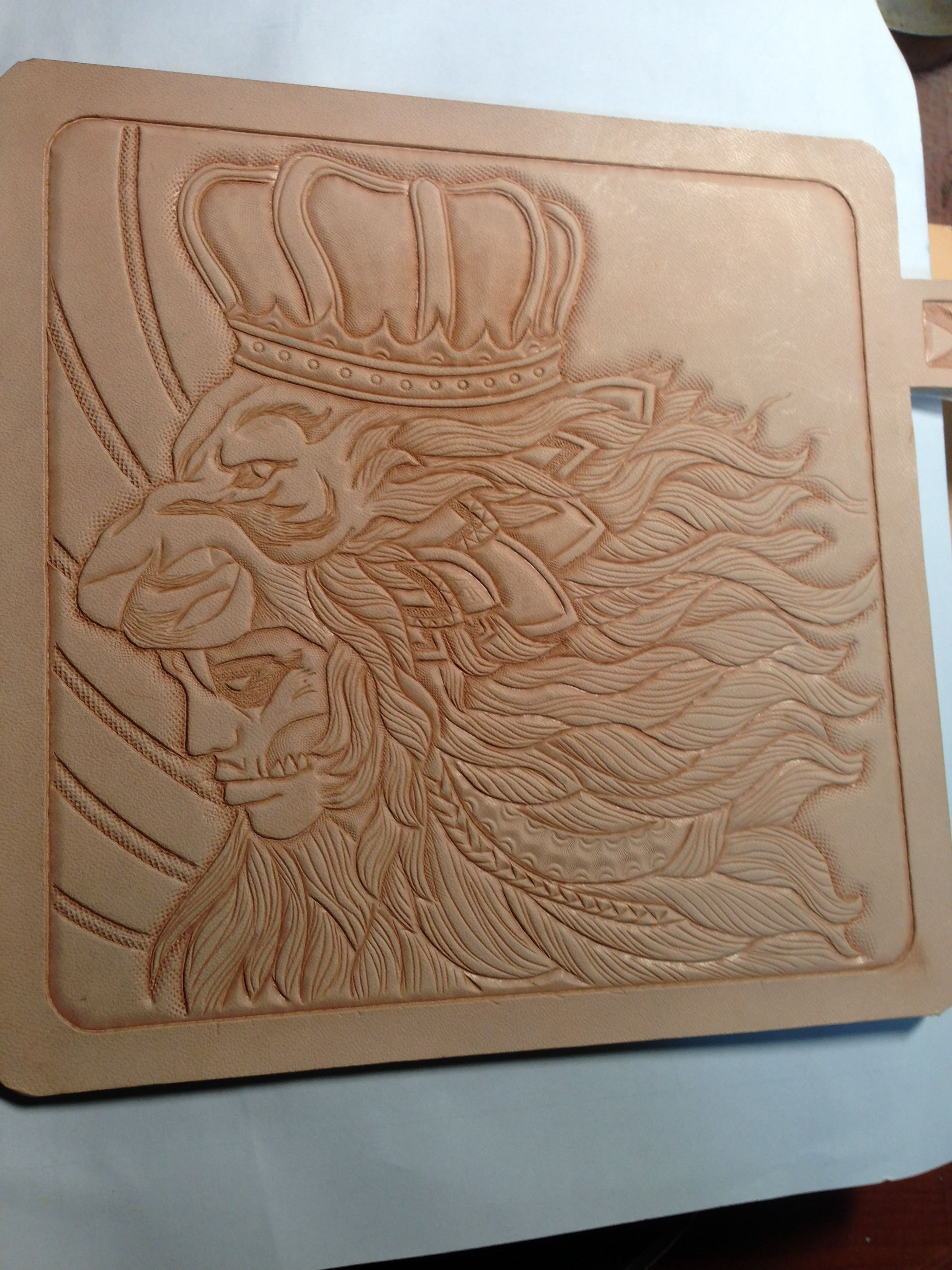 http stores ebay com jin leatherart leather carving  [ 2448 x 3264 Pixel ]