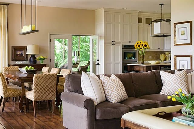 Tobi Fairley Living Room Furniture Layout Living Room Dining Room Combo Eclectic Living Room
