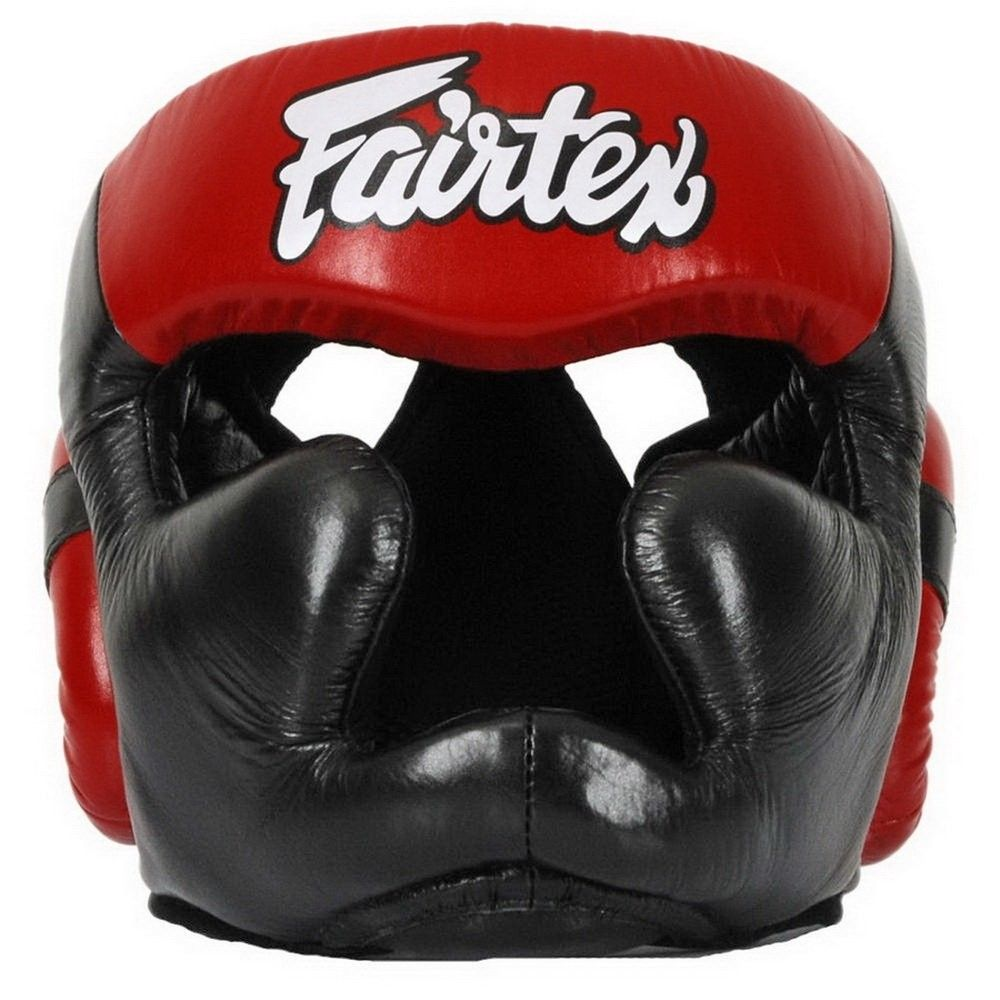 Fairtex Diagonal Vision Headgear Lace-Up Black