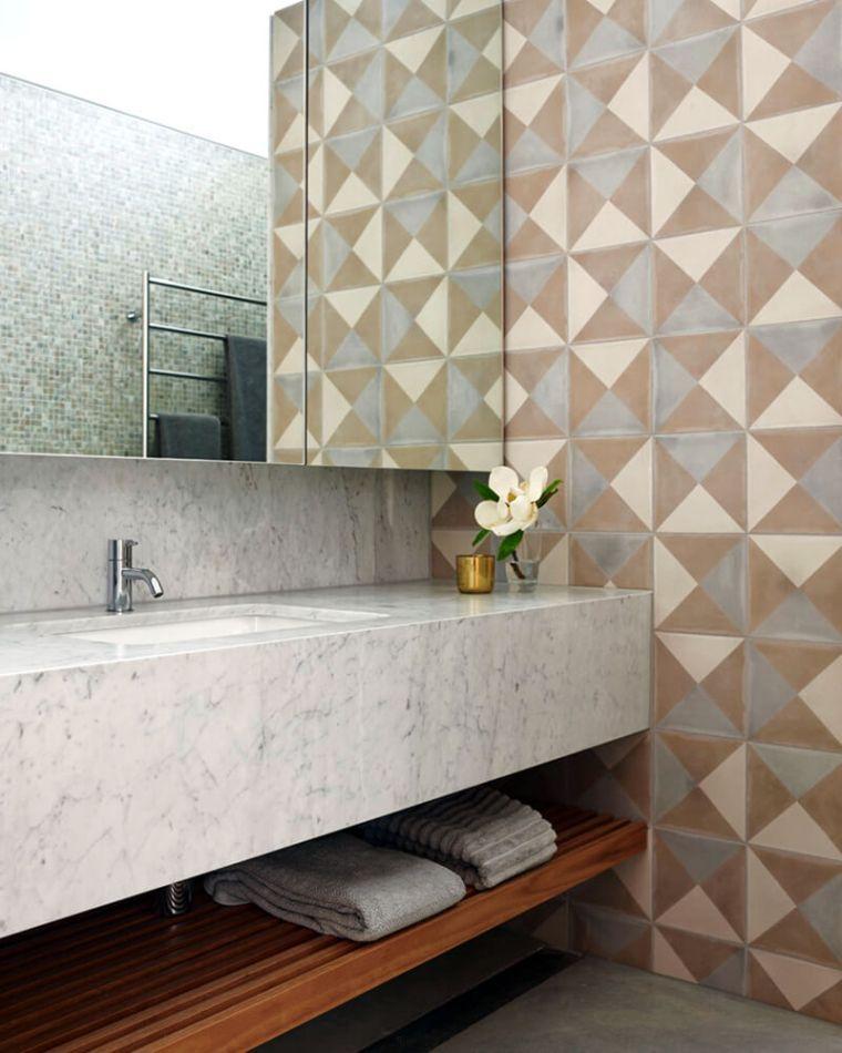 déco salle de bain de luxe et matériaux