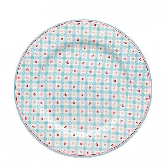 GreenGate Plate Mimi - Blue