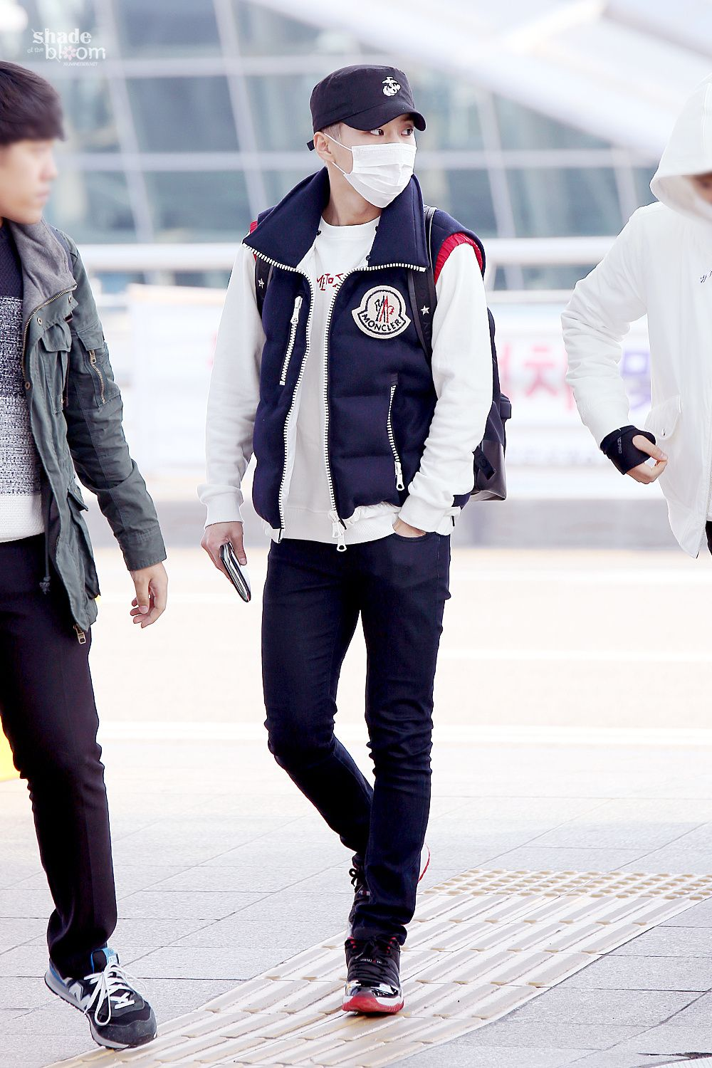 151120: EXO Xiumin (Kim Minseok); Incheon Airport to Macau ...
