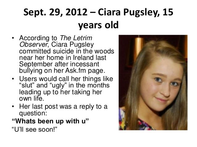 How Many Kid Commited Suicide Becauseof Bullying