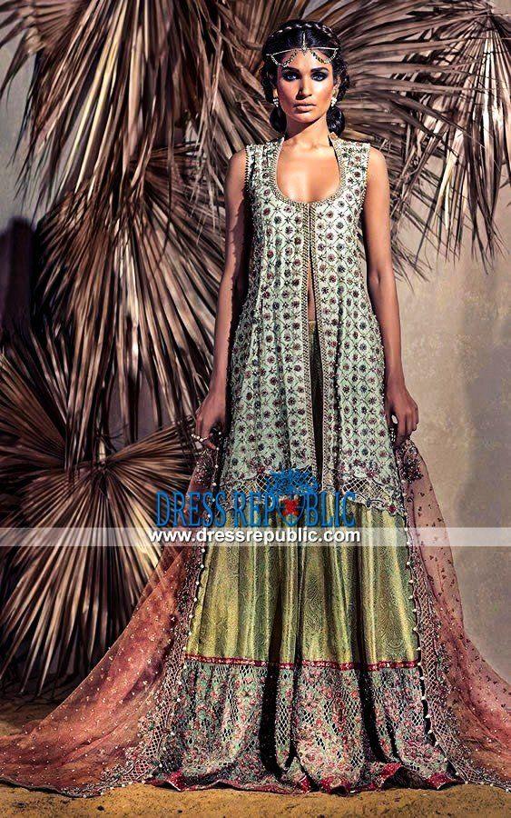 70a8c6cbba47 Pakistani Bridal Dress Chicago Umsha Uzma Babar