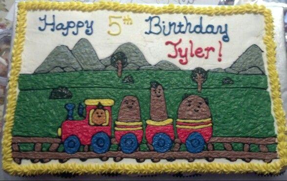 Small potatoes cupcake cake Birthday Cakes Pinterest Birthdays