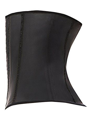 40644e40d1 Colombian Latex Waist Cincher Waist Trainer Trimmer Long Torso with 3 Hook  Rows at Amazon Women s Clothing store
