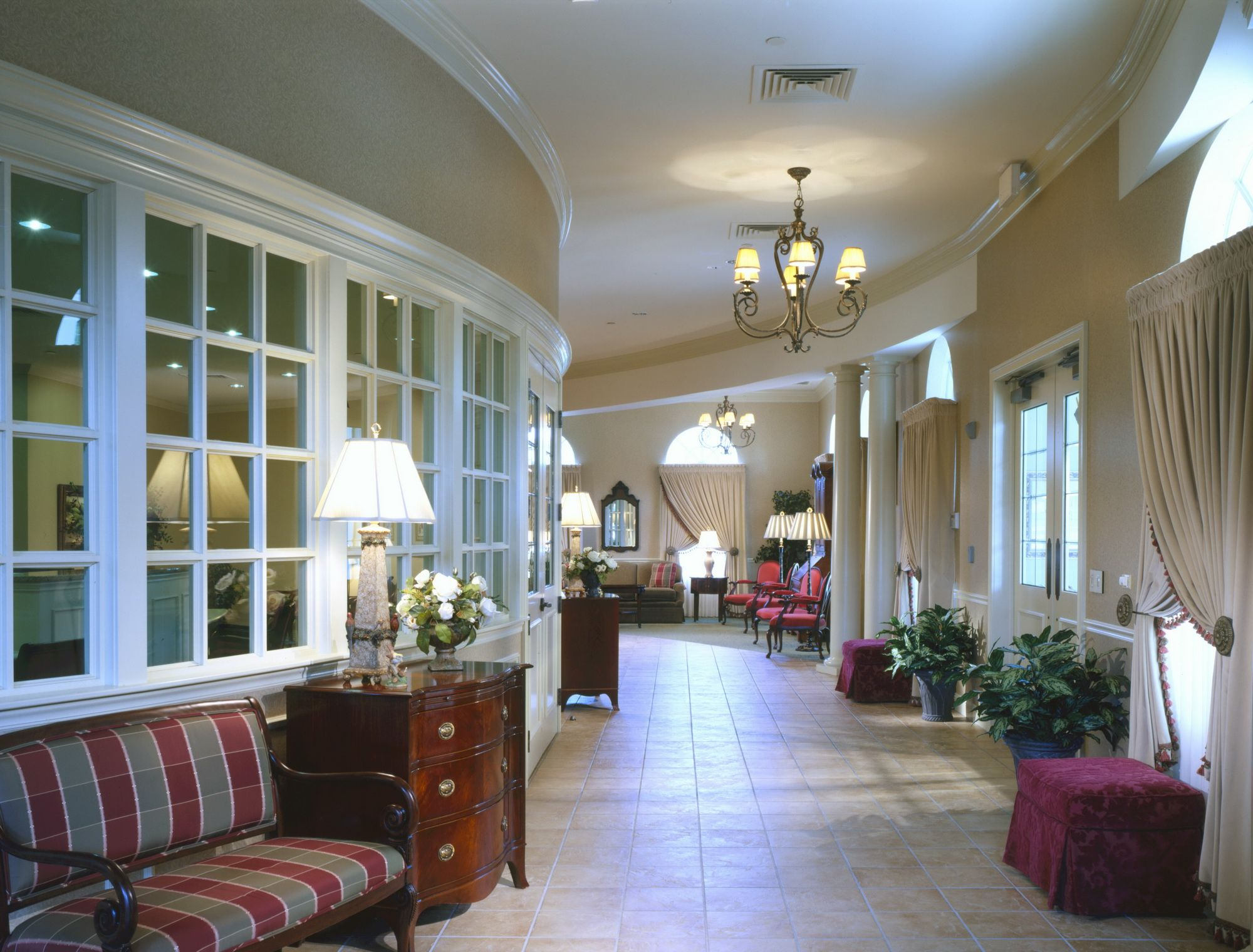 Jst funeral home design paquelet funeral home and arnold Funeral home interior design