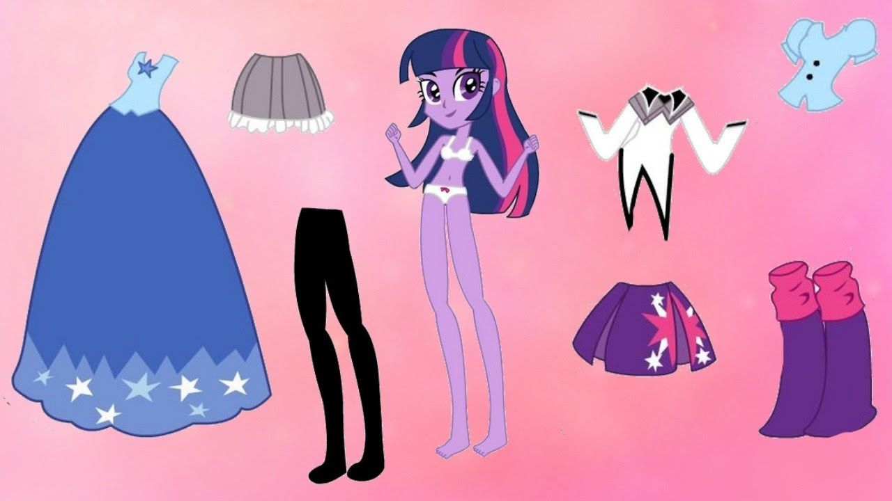 My Little Pony Dress Up Equestria Girls Games for Kids