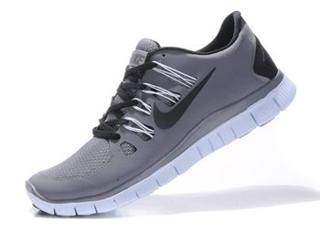 Nike Free Trainer 5.0 Size 12 For Men Gray Black Running Shoes