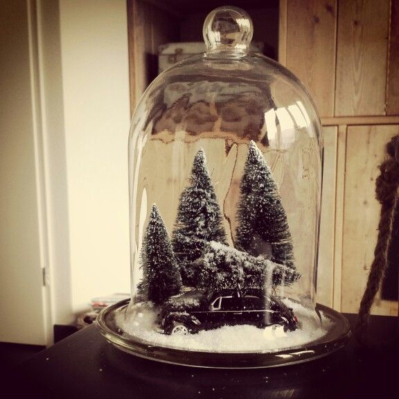 Kerst stolp idee tis the season pinterest kerst kerstmis en kerstknutsels - Ideeen deco trappen ...