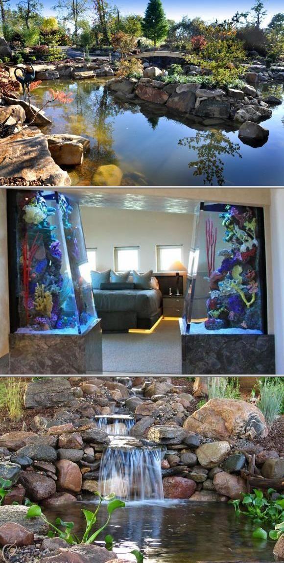 Superieur Living Art Aquatic Design Inc. Has Been Providing Professional Aquarium  Design And Installation Since 1969. They Also Offer Pond Design,  Installation, ...